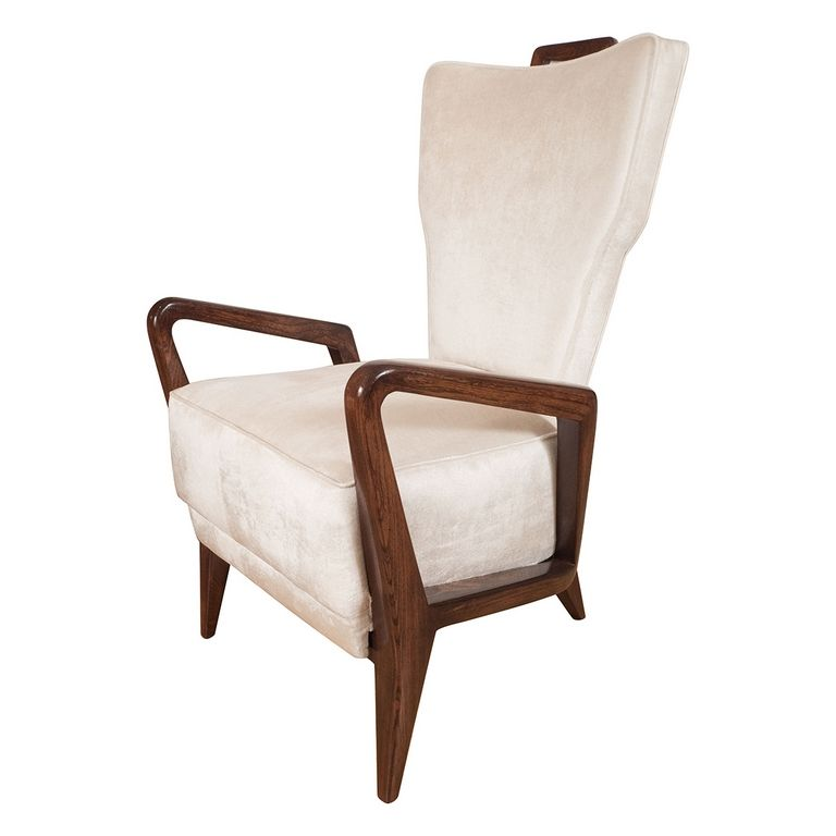Wood Frame Armchairs