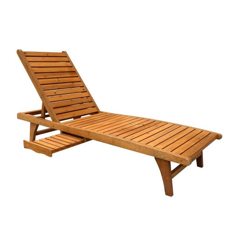 Wood Lounge Chair Outdoor