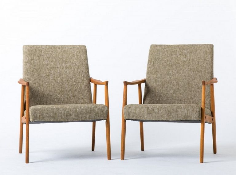 Wooden Arm Chairs