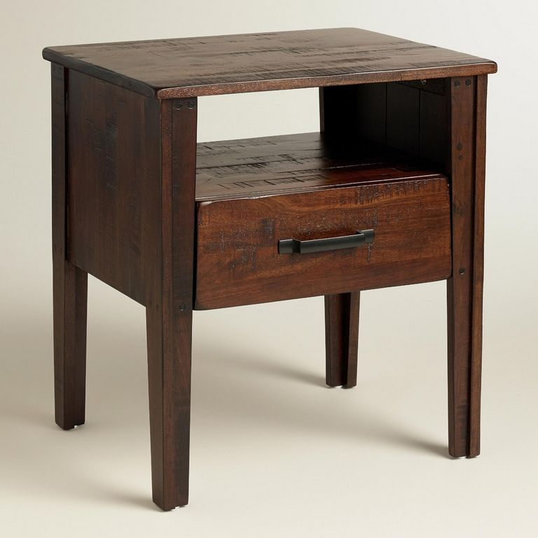 World Market Bedside Table
